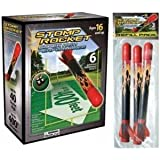 Stomp Rocket Super High Performance Stomp Rocket with 1 Refill Pack of 3 Rockets