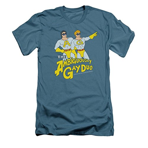 Saturday Night Live Ambiguously Gay Duo Slim Fit T-Shirt SNL118SF