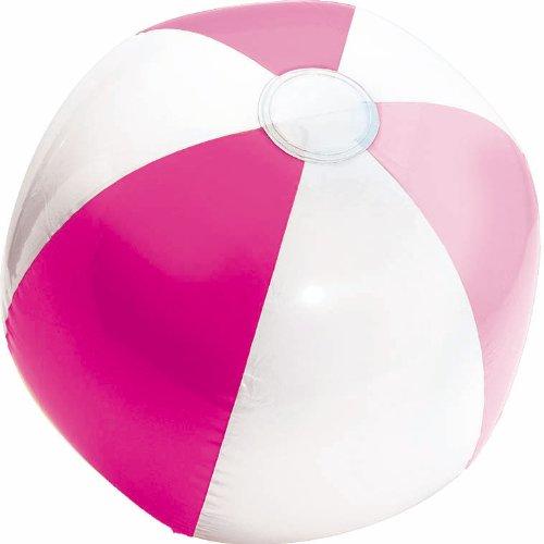 beach ball inflatble pink - 1