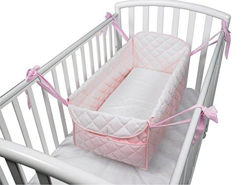 riduttore-lettino-miniletto-nanna-culla-materasso-neonato-baby-colore-rosa