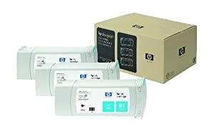 HP C5067A - The 3-ink multipack from improves productivity for large format ink customers by providing significant cost savings for high volume users.