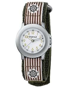 Esprit - ES103454004 - Montre Garçon - Quartz Analogique - Bracelet Nylon Multicolore