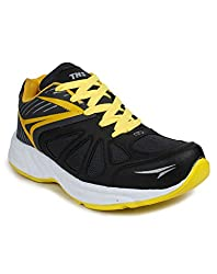 Tennis Black Yellow Sports shoes