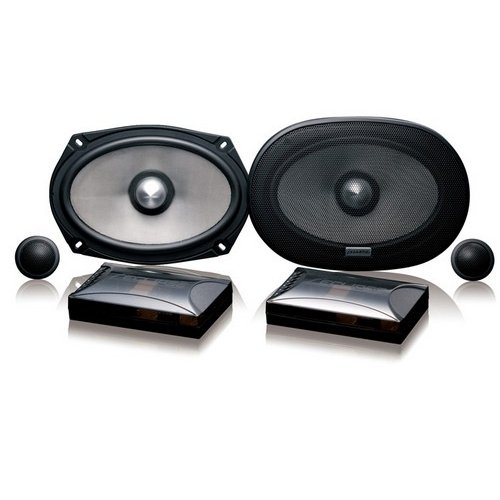 Eclipse Sc6900 6X9 Inch 2-Way Separate 240 Watts Component Car Speaker System