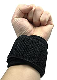 Adjustable Wrist Band, Weight Lifting Training Wrist Straps Protects Curpel Tunnel From Injuries Wraps Belt Protector for Weightlifting Crossfit Powerlifting Bodybuilding Set of 2 Unisex