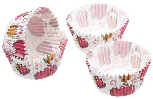 Kitchen Craft - Capsulas Cupcake Pasteles, 60 Unids
