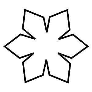 Kaiser Cortapastas Copo de Nieve Cristal 4 cm, Molde para