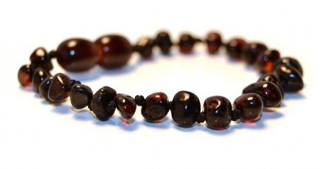 The Art of Cure Baltic Amber Bracelet 5.5 Inch - (Cherry) - Anti-inflammatory - 1
