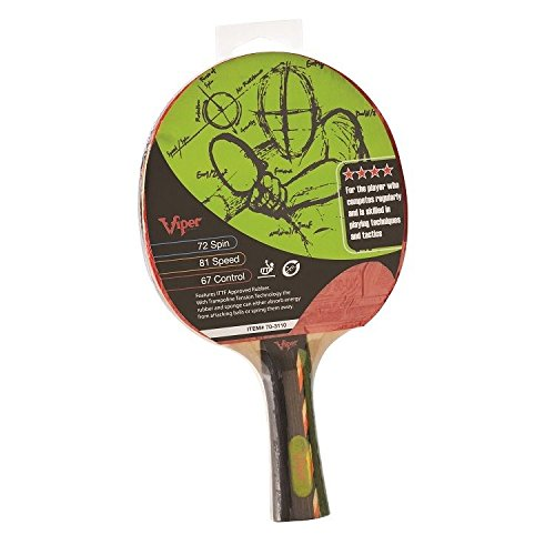 Viper Leading Edge 4 Star Table Tennis Ping Pong Racket Paddle