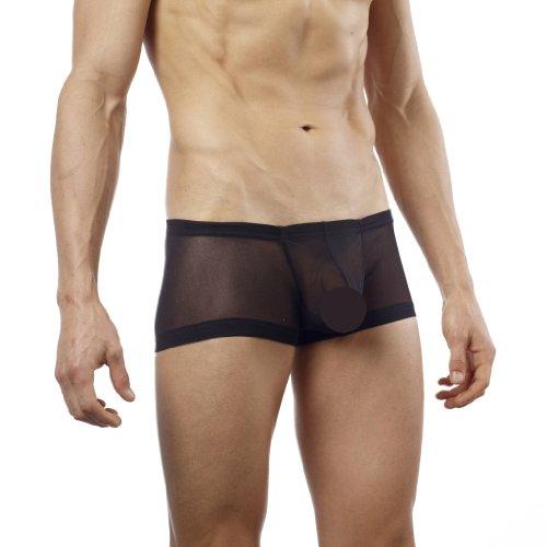 ce71b3de3283 Men Underwear: Good Devil Men's GD5101 Hose Mesh Trunk Black - XL ...