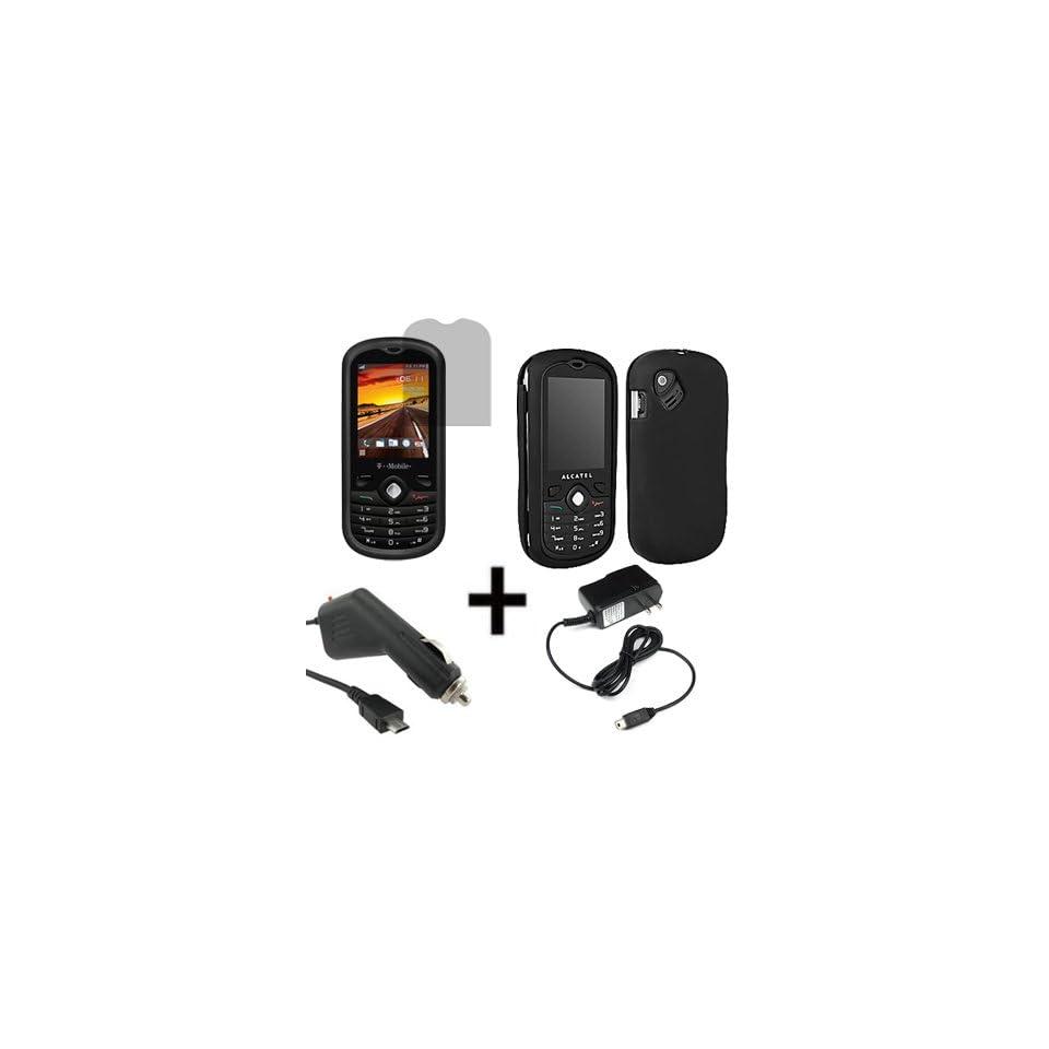 T Mobile OEM Sleeve Gel Cover Skin Case for T Mobile Alcatel