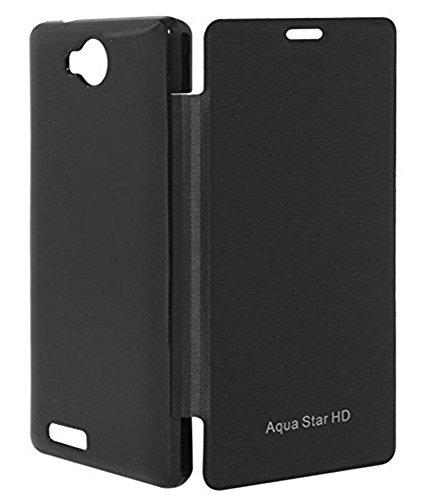 BETLIC Flip Cover for Intex Aqua Star Hd - Black  available at amazon for Rs.128
