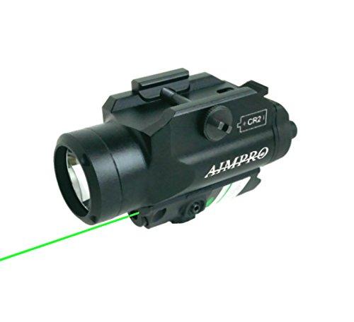 Aimpro Green Laser Sight With 220 Lumen Led Flashlight