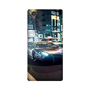PrintRose Oneplus X back cover - High Quality Designer Case and Covers for Oneplus X Painting Car