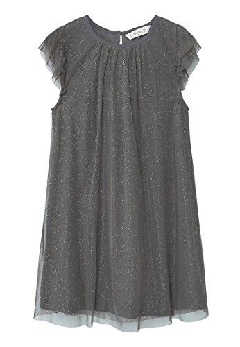MANGO KIDS – Kleid mit Kleider metallic-details