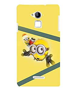printtech Minions Back Case Cover for Coolpad Note 3 Lite Dual SIM with dual-SIM card slots