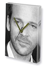 PETER SARSGAARD - Canvas Clock (LARGE A3 - Signed by the Artist) #js001
