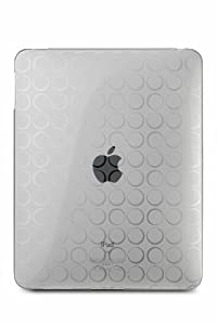 CTCStore Clear Dot Premium Crystal Candy TPU Silicone Skin Case for APPLE iPAD from ChiTek