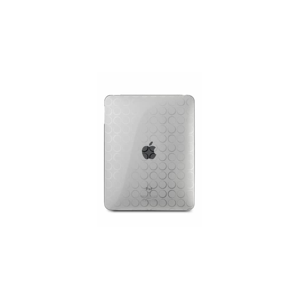 CTCStore Clear Dot Premium Crystal Candy TPU Silicone Skin Case for APPLE iPAD