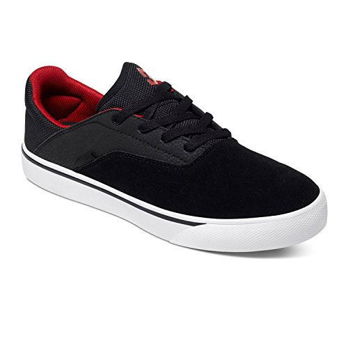 DC Mens Wallon S Shoes 10D Black/Dk Grey/Athlet