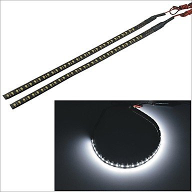 carking-tm-3528-32smd-30cm-voiture-etanche-a-led-flash-decoratif-lampe-bande-noire-x2-white