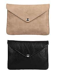 Oleva Ladies Clutch Bags combo set of 2 Slim bags ODC-011