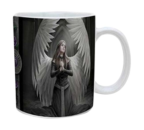 Empire Merchandising 558466 Anne Stokes Prayer for the Fallen Tazza, Diametro 8,5 cm in ceramica