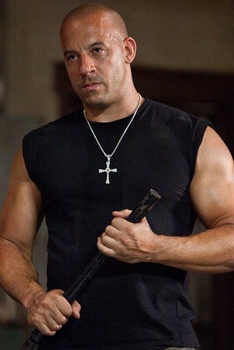 Vin Diesel Cool Pose In Black Vest Fast and Furious 24x36 Poster