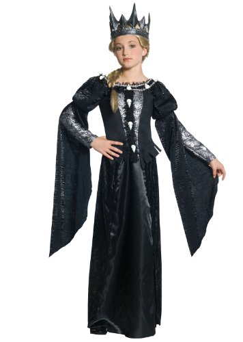 Snow White and The Huntsman Deluxe Ravenna Skull Dress Tween Costume