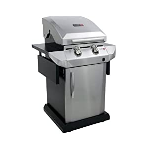 Char-Broil TRU Infrared Urban Gas Grill with Folding Side Shelves by Char-Broil