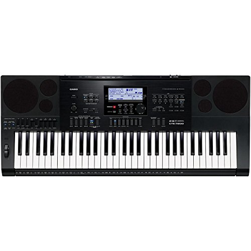 casio ctk 7200 61 key personal keyboard with power supply. Black Bedroom Furniture Sets. Home Design Ideas