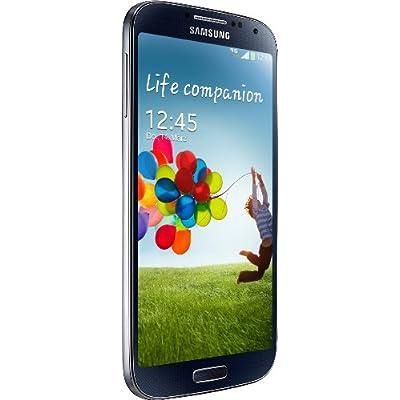 Samsung Galaxy S4 Smartphone (12,7 cm (4.99 Zoll) AMOLED-Touchscreen, 16 GB interner Speicher, 13 Megapixel Kamera, Android 4.2) black-mist