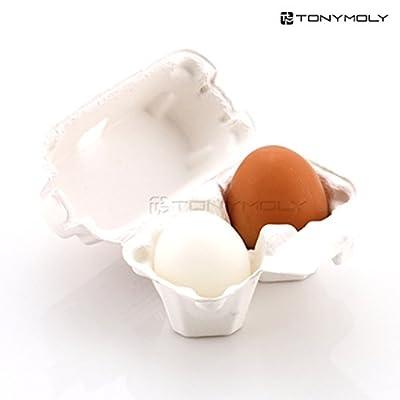 TONYMOLY トニーモリー エッグポア・シャイニー・スキン・ソープ 50g x 2個入り (Eggpore Shiny Skin Soap) 海外直送品