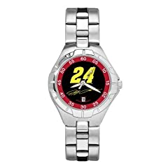LogoArt Jeff Gordon Ladies PRO II Watch - Jeff Gordon Each by Nascar Officially Licensed