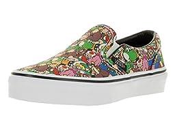 Vans Kids Classic Slip On (Nintendo) Super Mario Br Skate Shoe 11 Kids US