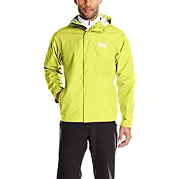 Helly Hansen Men\'s Seven J Jacket, Wasabi, Large