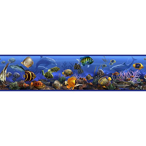 Roommates Rmk1004Bcs Under The Sea Peel And Stick Wall Border front-1037109