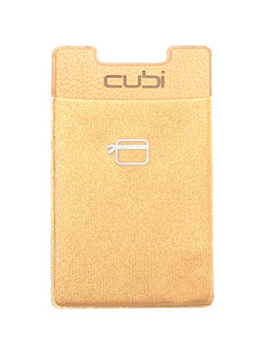 CardNinja Ultra-slim Self Adhesive Credit Card Wallet for Smartphones, Gold (Card Ninja Iphone compare prices)