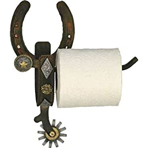 River's Edge Real Cast Iron Spur Toilet Paper Holder. Precio: $23.95