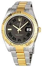 Rolex Oyster Perpetual Datejust II Mens Watch 116333GYRO