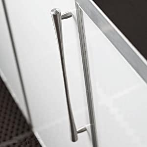 Atlas Homewares A852-SS 12.75-Inch Fluted Pull from the Fluted Collection, Stainless Steel