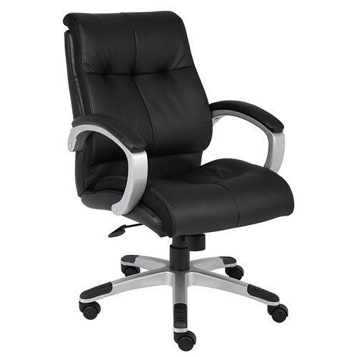 Boss B8776P-BN Double Plush Mid Back Executive Chair