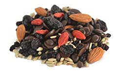 Goji Gab - Healthy, Nutritious, Nuts, Fruits, Seeds Trail Mix Snack from thenibblebox.com (60g x 3 packs)