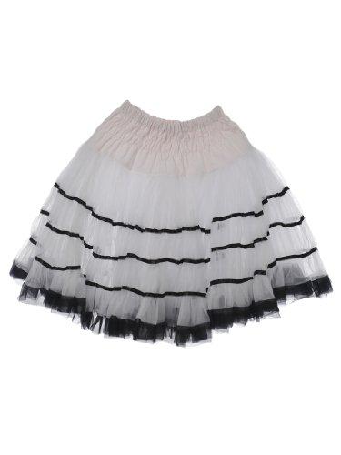 Topwedding falda corta 2 capas de tul