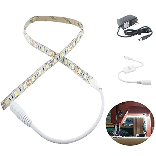 Bonlux Sewing Machine LED Lighting Kit, Machine Working Led Lights Attachable Led Sewing Light Strip Kit - Fits All Sewing Machines (Led Lights For Sewing Machines compare prices)