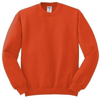 JERZEES 562MR NuBlend® Crewneck Sweatshirt (S, Burnt Orange)