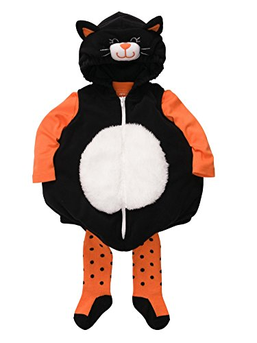Carters Infant Cat Costume Baby Girls Kitty Hoody Jacket Shirt & Socks Set