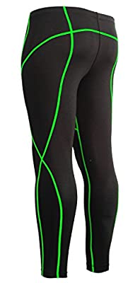 Emfraa Compression Pants Men Women Tights Under Leggings Base Layer Running Gear S ~ XXL
