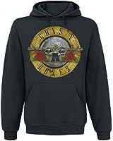 Guns N' Roses Distressed Bullet Hooded sweatshirt black