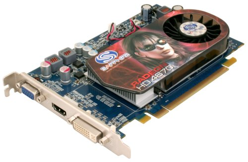 Sapphire HD4670 512MB DDR3 PCI E Graphics Card